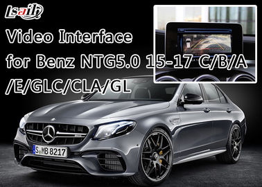 Setelah 2015 BENZ- NEW-C Reverse Camera Interface Dengan Front View Camera, 800X480 HVGA