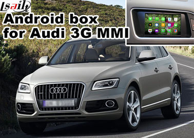 Cina Audi Q5 3G MMI video Android navigation box video interface, Car Navigation Box pabrik