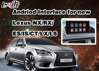 Cina Android 6.0 Lexus Video Interface untuk tahun 2014 - 2017 RX / IS / ES / IS / NX / LX / LS dengan Jaringan WIFI Distributor