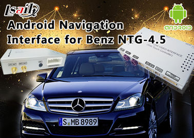 Cina Mercedes-Benz E Class NTG 4.5 Navigasi GPS Android Auto Interface Box Mendukung WiFi Bt Mirrorlink Distributor