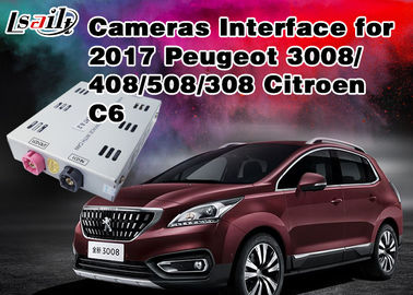 Peugeot Reverse Camera Interface Mengintegrasikan Sumber TV / Rear Video Source, RoHS SGS, Panduan Parkir Aktif