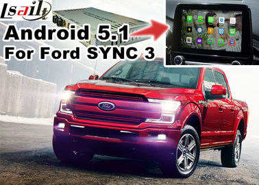 Cina Ford F-150 SYNC 3 Navigasi Gps Otomotif Dengan Android 5.1 WIFI BT Map Google apps Distributor