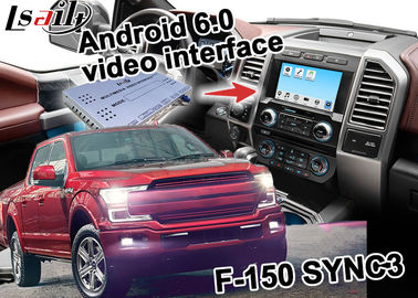 Ford F-150 SYNC 3 Navigasi Gps Otomotif Dengan Android 5.1 WIFI BT Map Google apps