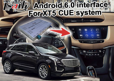 Cina GPS Android navigation box video interface untuk video Cadillac XT5 Distributor
