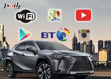 Cina Lexus 2019 UX / ES Android Car Navigation Box Antarmuka Video Multimedia pabrik