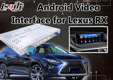 Android 6.0 Lvds Video Interface untuk Kontrol Mouse Lexus RX 2013-2018, GPS Navigasi Mirrorlink RX270 RX450h RX350