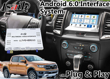 Cina Android 6.0 Auto Interface Gps Navigasi untuk Ford Ranger / Everest SYNC 3 Sistem LVDS Tampilan Digital Bluetooth OBD Distributor