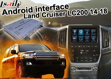 Cina Toyota Land Cruiser LC200 Upgrade Antarmuka Video Mobil Carplay Android Auto Durable pabrik