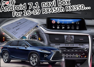Cina RX350 RX450h Lexus Video Interface 16-19 Versi 2 / 3GB RAM Kotak Navigasi Android pabrik