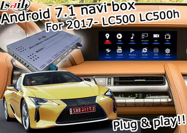 Cina Lexus LC500 LC500h GPS Navigasi Box antarmuka video carplay nirkabel opsional dan android auto youtube Google play Distributor