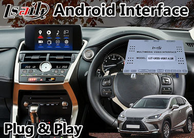 Cina Lsailt Lexus Video Interface Untuk Nx Nx300 NX200T Dengan Touchpad Gps Navigation Box android 9.0 Distributor
