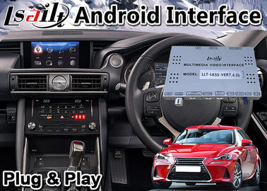 Cina Android Auto Interface Box untuk 2016-2020 Lexus IS 200t Knob Control, Navigasi GPS Distributor