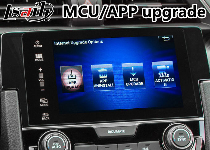 Antarmuka Video Civic Honda, Navigasi GPS Android Dengan Youtube Mirror Link